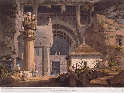 Ancient Excavations at Carli, 1824