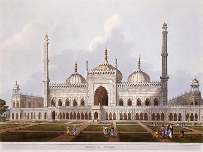 Mosque at Lucknow, 1824