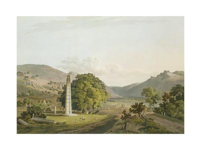 The Obelisk at Axum, Engraved by Daniel Havell (1785-1826) 1809