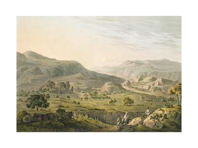 The Pass of Atbara in Abyssinia, Engraved by Daniel Havell (1785-1826) 1809