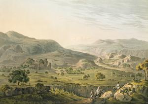 The Pass of Atbara in Abyssinia, Engraved by Daniel Havell (1785-1826) 1809 by Henry Salt