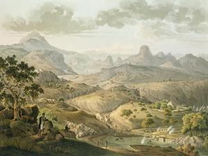 View Near the Village of Asceriah, in Abyssinia, Engraved by Daniel Havell (1785-1826) 1809 by Henry Salt