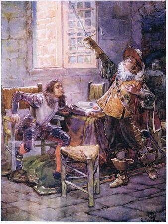 De La Tour Refuses to Yield His Allegiance 1630, C.1920