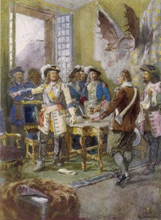 Frontenac Refuses to Surrender Quebec to the English