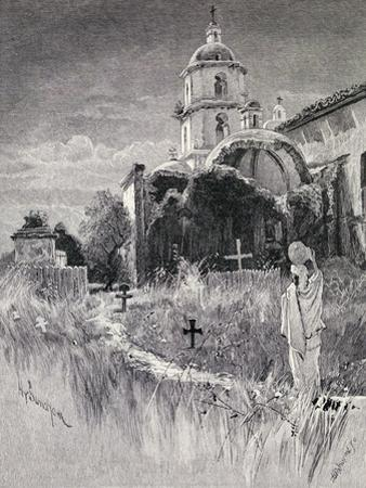 Graveyard and Mission, San Luis Rey De Francia, California, from 'The Century Illustrated Monthly…