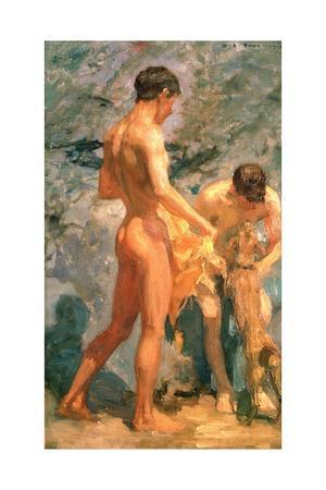 Boys Bathing, 1912
