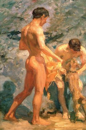 Boys Bathing, 1912 by Henry Scott Tuke