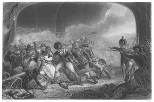 Last Effort and Fall of Tippoo Sultan', Mid 19th Century by Henry Singleton