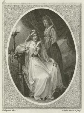 Scene from Othello, by William Shakespeare by Henry Singleton