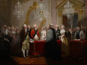 The Marriage of the Duke and Duchess of York, 1791 by Henry Singleton