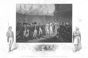 The Surrender of Two Sons of Tipoo Sultan', C1860 by Henry Singleton