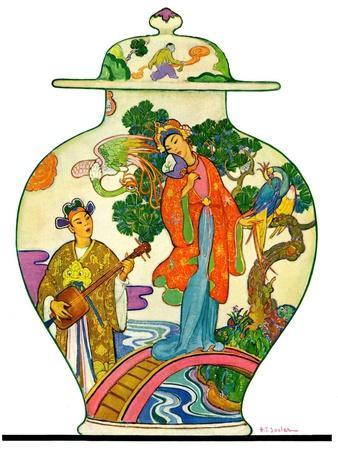 """Oriental Vase,""April 5, 1930"
