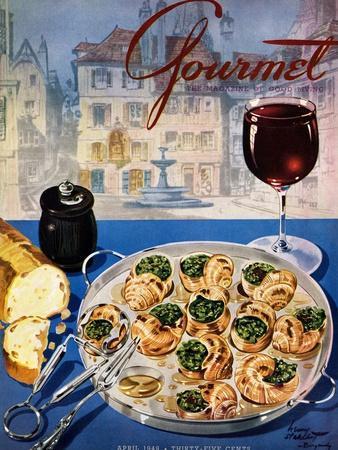 Gourmet Cover - April 1949