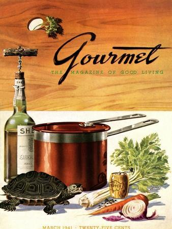 Gourmet Cover - March 1941