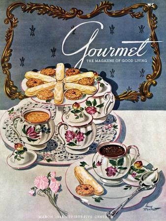 Gourmet Cover - March 1948