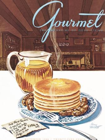 Gourmet Cover - November 1944