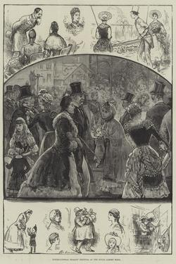 International Peasant Festival at the Royal Albert Hall by Henry Stephen Ludlow