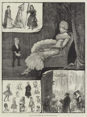 Juvenile Fancy-Dress Ball at Mansion House by Henry Stephen Ludlow