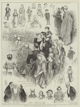 Juvenile Fancy-Dress Ball at the Mansion House by Henry Stephen Ludlow