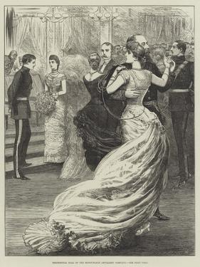 Regimental Ball of the Honourable Artillery Company by Henry Stephen Ludlow