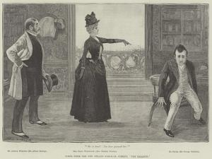 Scene from the New Strand Farcical Comedy, The Balloon by Henry Stephen Ludlow