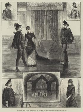 Sketches from Moro, the Painter of Antwerp, at Her Majesty's Theatre by Henry Stephen Ludlow