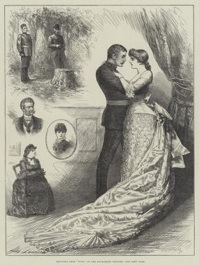 Sketches from Ours, at the Haymarket Theatre by Henry Stephen Ludlow