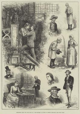 Sketches from the New Play of The Squire, at the St James's Theatre by Henry Stephen Ludlow