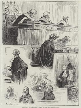 Sketches in the Law Courts, a Day in the Lord Chief Justice's Court by Henry Stephen Ludlow