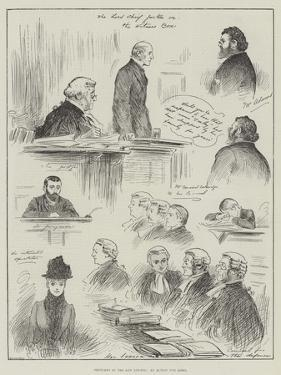 Sketches in the Law Courts, an Action for Libel by Henry Stephen Ludlow
