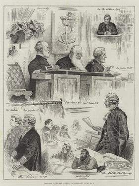 Sketches in the Law Courts, the Admiralty Court, No 2 by Henry Stephen Ludlow