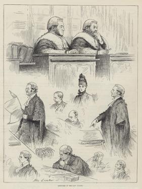 Sketches in the Law Courts by Henry Stephen Ludlow