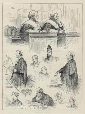 Sketches in the Law Courts