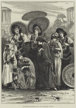The Aesthetic Quadrille Party by Henry Stephen Ludlow