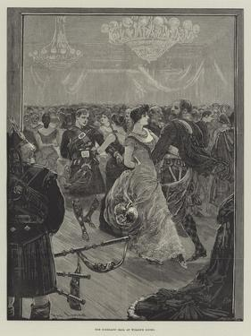 The Highland Ball at Willis's Rooms by Henry Stephen Ludlow