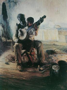 Henry Tanner (Banjo Lesson) Art Poster Print