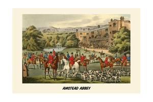 Amstead Abbey by Henry Thomas Alken