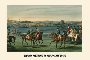 Bibury Meeting in its Palmy Days by Henry Thomas Alken