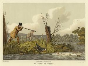 Flacker Shooting by Henry Thomas Alken