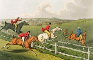 Fox Hunting, aquatinted by I. Clark, pub. by Thomas McLean, 1820 by Henry Thomas Alken