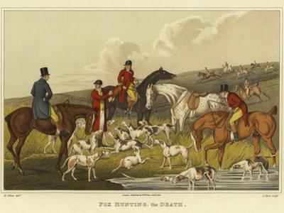 Fox Hunting, the Death by Henry Thomas Alken