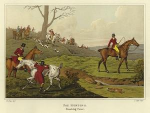 Fox Hunting by Henry Thomas Alken
