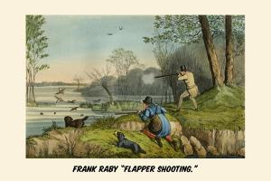 Frank Raby Flapper Shooting by Henry Thomas Alken