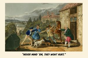 Never Mind'Em… They Won't Hurt by Henry Thomas Alken