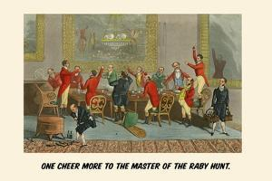 One Cheer More to the Master of the Raby Hunt by Henry Thomas Alken