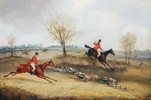 Over the Fence by Henry Thomas Alken