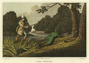 Pike Fishing by Henry Thomas Alken