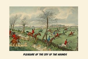 Pleasure of the Cry of the Hounds by Henry Thomas Alken