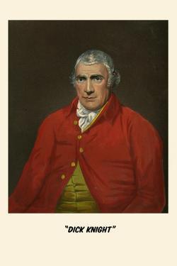 Portrait of Dick Knight by Henry Thomas Alken