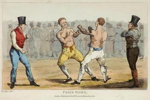 Prize Fight by Henry Thomas Alken